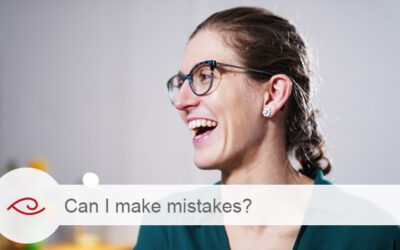 Can I make mistakes?